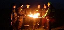 Z okazji jubileuszu 1050-lecia Chrztu Polski w całej Polsce zapłonęły Ogniska Ducha Świętego.