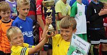 Wielka Piłka w Lanckoronie. Dziecięcy Turniej Piłki Nożnej o Puchar Wójta Gminy Lanckorona (foto relacja)