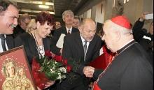 Delegacja z Lanckorony na Dziękczynnej Mszy Świętej za jedenaście lat posługi metropolitarnej. Kardynała Stanisława Dziwisza.