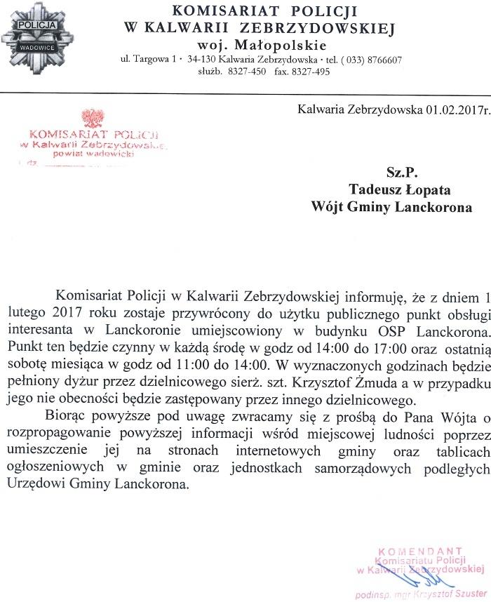komisariat-w-lanckoronie