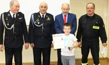 Gminne Eliminacje Ogólopolskiego Turnieju Wiedzy Pożarniczej w Lanckoronie
