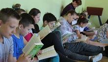 """Ogólnopolska akcja """"Jak Nie czytam jak czytam"""" w Izdebniku"""
