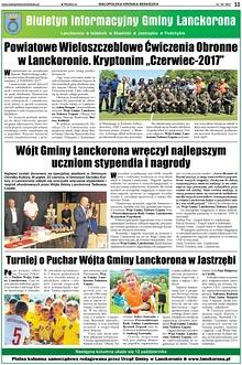 Ważne wydarzenia w Lanckoronie