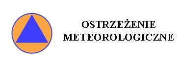 Ostrzeżenie meteorologiczne o burzach z gradem