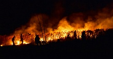 Wypalanie traw jest niebezpieczne
