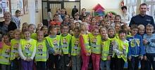 Szkoła w Lanckoronie świeci odblaskowym przykładem!