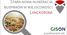 Wyszukiwarka numerów budynków w Lanckoronie