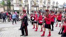 Orkiestra Dęta z Lanckorony w Krakowie