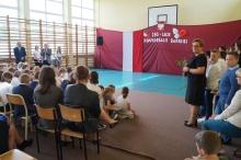 250-lecie Konfederacji Barskiej w szkole podstawowej w Lanckoronie