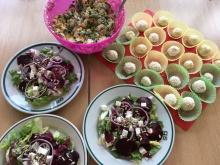 Warsztaty Kulinarne i Żywieniowe zorganizowane przez Bank Żywności