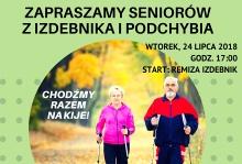 SPACER NORDIC WALKING DLA SENIORÓW W IZDEBNIKU