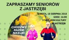 SPACER NORDIC WALKING DLA SENIORÓW W Jastrzębi