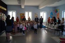 poświęcenie przedszkola w izdebniku po remoncie
