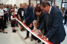 oficjalne otwarcie nowego budynku przedszkola w Lanckoronie