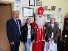 wizyta św. mikołaj w urzędzie gminy