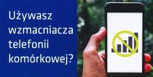 Nielegalne używanie wzmacniaczy telefonii komórkowej