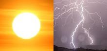 Ostrzeżenie meteorologiczne – upał – burze z gradem