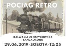 Pociąg Retro w Kalwarii Zebrzydowskiej