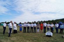 IV Bieg Lucka i wmurowanie kamienia węgielnego pod stadion w Skawinkach