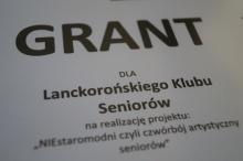 6000zł na działania dla seniorów z gminy Lanckorona