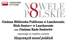 zaproszenie na narodowe czytanie w klubie senior+