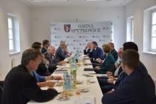 Konwent Wójtów, burmistrzów i starosty wadowickiego w bachowicach
