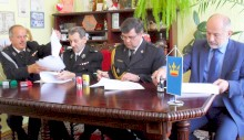 Podpisanie porozumienia w sprawie włączenia Ochotniczej Straży Pożarnej w Lanckoronie do krajowego systemu ratowniczo – gaśniczego
