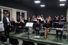uroczyste otwarcie sali prób dla gminnej orkiestry dętej