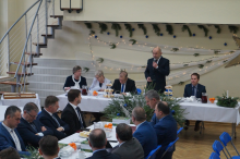 walne zebranie SGB i wręczenie laurów babiogórskich w Lanckoronie