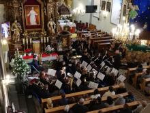 II noworoczny koncert gminnej orkiestry dętej