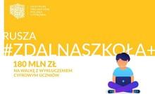 """Laptopy dla szkół w ramach programu """"Zdalna szkoła+"""""""