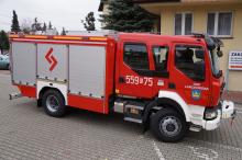 OSP Lanckorona zakupiła nowy wóz strażacki
