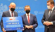 Gmina Lanckorona otrzymała wsparcie w wysokości 1 360 000,00 zł