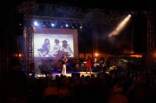 """relacja z koncertu """"klenczon – poemat rockowy"""" na lanckorońskim rynku"""
